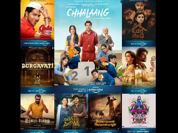 कुली नंबर वन, छलांग, दुर्गावती समेत अमेज़न प्राइम पर 9 फिल्में होगीं रिलीज-देखें पोस्टर और रिलीज डेट
