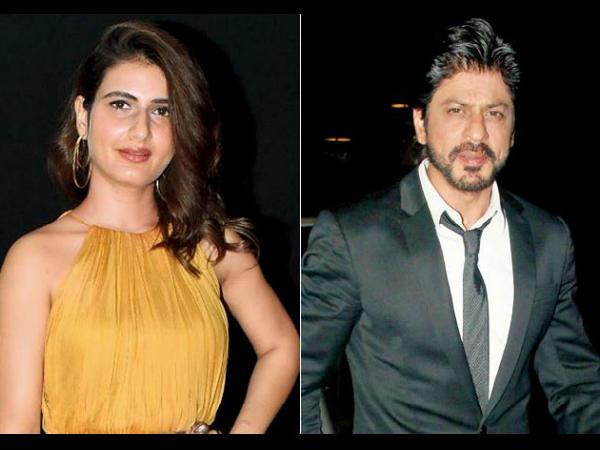 शाहरुख खान के साथ काम करना चाहती हैं फातिमा सना शेख- राजू हिरानी को मैसेज कर कही ये बात