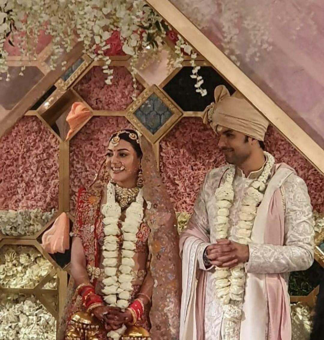 First Pics: सिंघम एक्ट्रेस काजल अग्रवाल बनीं मिसेज़ गौतम किचलू, देखिए शादी की तस्वीरें