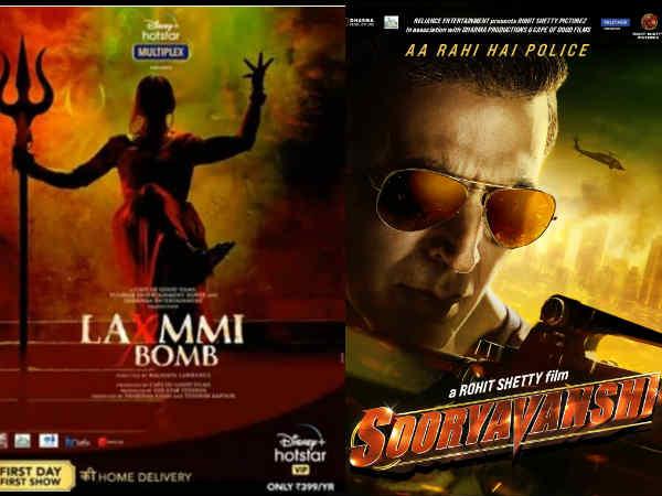 अक्षय कुमार की दीवाली और क्रिसमस रिलीज़ बुक | Akshay Kumar's Laxmmi Bomb and Sooryavanshi to hit theatres in Diwali and Christmas