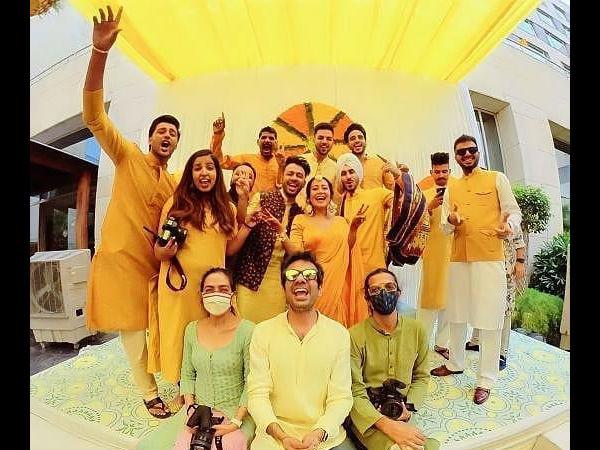 नेहा कक्कड़ और रोहनप्रीत सिंह की शादी, हल्दी और मेंहदी की रस्में से सामने आई तस्वीरें-PICS