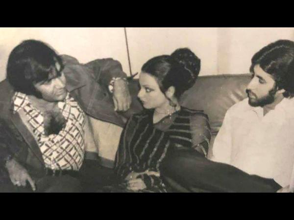 अमिताभ बच्चन के साथ पहली फिल्म