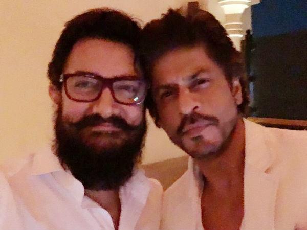 'लाल सिंह चड्ढा' - 28 सालों में दूसरी बार साथ दिखाई देंगे आमिर खान और शाहरुख खान