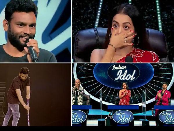 Indian Idol के सेट पर झाड़ू लगाने वाले युवराज का गाना सुन रो पड़े जज, वीडियो वायरल