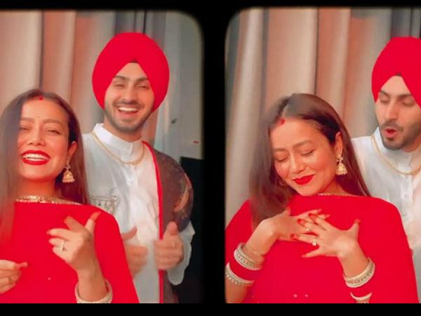 करवा चौथ 2020: नई नवेली दुल्हन नेहा कक्कड़ का धमाकेदार वीडियो, पति रोहनप्रीत संग pics