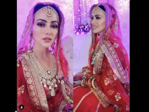 Pics: बॉलीवुड छोड़ने के बाद सना खान ने की सूरत के बिज़नेसमैन से शादी