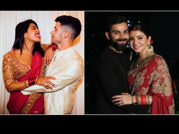 Karwa Chauth: शादी के बाद पहला करवा चौथ, अनुष्का- प्रियंका, ऐश्वर्या साड़ी में बेहद खूबसूरत