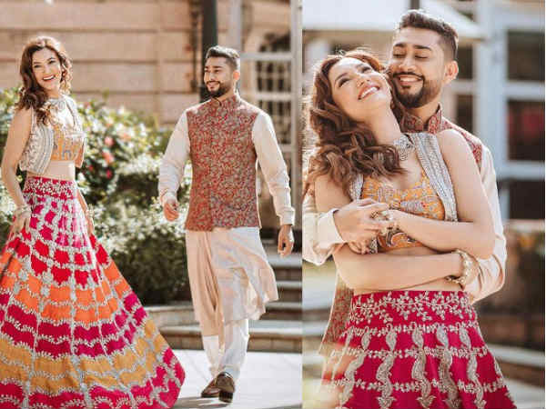 गौहर खान ने कर दिया शादी की तारीख का ऐलान, खूबसूरत तस्वीरों के साथ साझा किया वेडिंग कार्ड