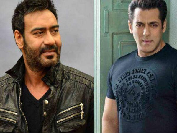 अजय देवगन और सलमान खान का ईद 2022 पर बड़ा क्लैश, कौन मारेगा बॉक्स ऑफिस पर बाजी? Ajay Devgn vs salman Khan mayday movie likely to clash with Tiger 3 or Kick 2 on Eid 2022