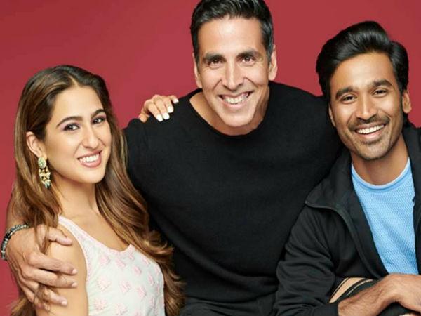 'अतरंगी रे' की कहानी का खुलासा, अक्षय कुमार, सारा अली खान और धनुष की तिगड़ी- धमाकेदार रोल! Akshay Kumar, Sara Ali Khan, Dhanush Atrangi Re story reveal film give Raanjhanaa feel says reports