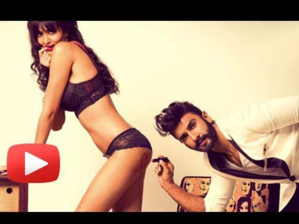 रणवीर सिंह का विवादित फोटो
