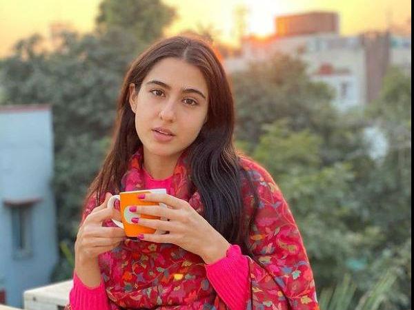 सारा अली खान की नो-मेकअप लुक फोटो, फैंस ने लगाई सोशल मीडिया पर 'आग'- Pics