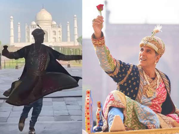 ताजमहल के सामने सूफी अंदाज में झूमते नजर आए अक्षय कुमार, वीडियो साझा कर लिखा ये कैप्शन