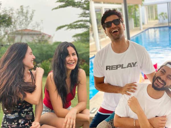 क्या कैटरीना कैफ और विकी कौशल ने साथ सेलिब्रेट किया नया साल | Did Katrina Kaif and Vicky Kaushal celebrate the new year together? Fans thinks so! See Photos
