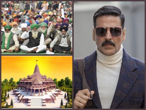 राम मंदिर पर वीडियो पोस्ट कर बुरी तरह ट्रोल हुए अक्षय कुमार, जानिए क्यों सुननी पड़ी खरी खोटी!