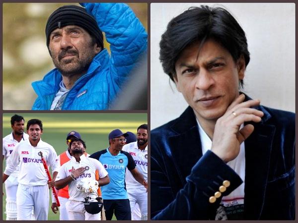 गाबा में टीम इंडिया ने ऑस्ट्रेलिया को चटाई धूल, उछल पड़े शाहरुख खान समेत ये बॉलीवुड सितारे!