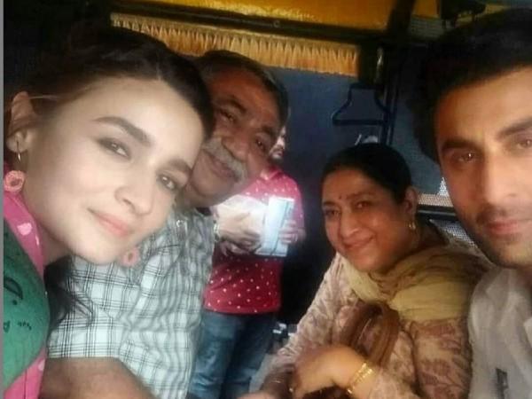 श्रद्धा कपूर को दिल्ली में छोड़ रणबीर कपूर ने आलिया भट्ट के साथ की शूटिंग, वायरल तस्वीरें