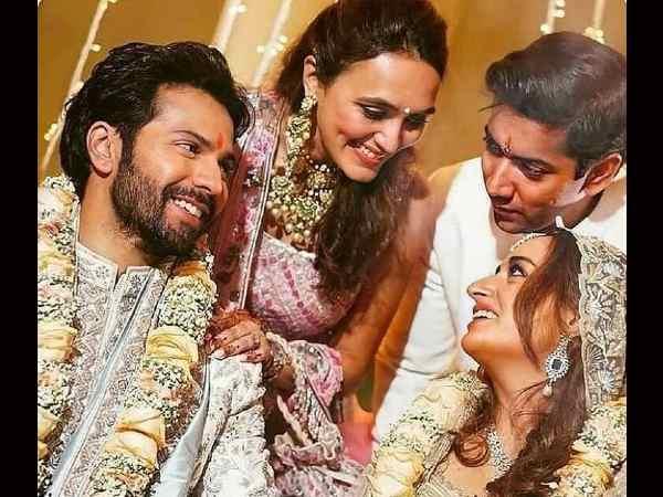 शादी के बाद वरुण धवन की पहली ट्विट- बधाइयों के लिए फैंस को कहा धन्यवाद, शेयर की शादी की PHOTOS