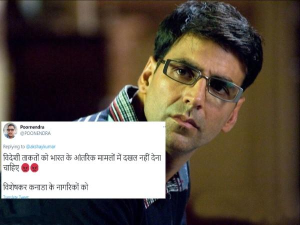 किसानों के मामले में सरकार का पक्ष रखने पर बुरी तरह ट्रोल हुए अक्षय कुमार, लोग बोले 'तुम कनाडियन हो, दखल मत दो