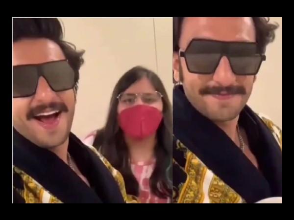 गाजर का हलवा लेकर रणवीर सिंह ने फैन के साथ बनाया मजेदार 'पावरी हो रही है' Video, आप भी देखिए