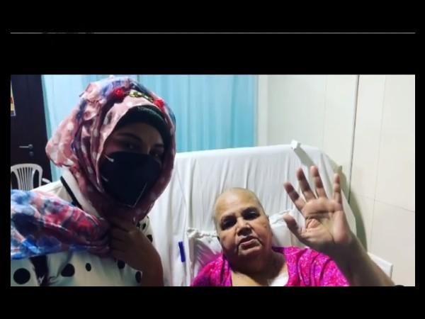 कैंसर की सर्जरी से पहले राखी सावंत की मां का सलमान खान के नाम दर्दनाक Video- आप सलामत रहो