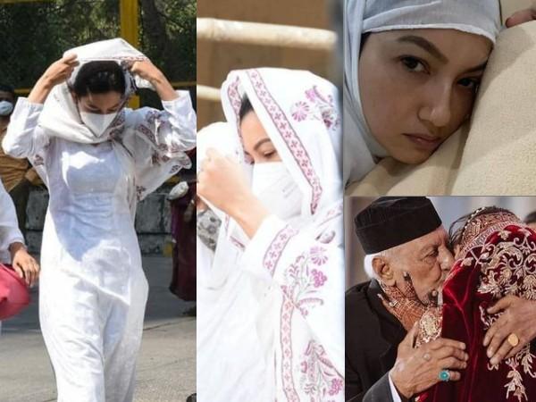 पिता की अंतिम यात्रा में शामिल हुईं गौहर खान, आंखों में आंसू लिए पिता को अंतिम विदाई देने पहुंचीं- PHOTOS