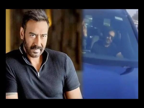 किसान समर्थक ने रोकी अजय देवगन की गाड़ी, बोला-तुम्हें रोटी कैसे पचती है, एक्टर ने जोड़े हाथ VIDEO