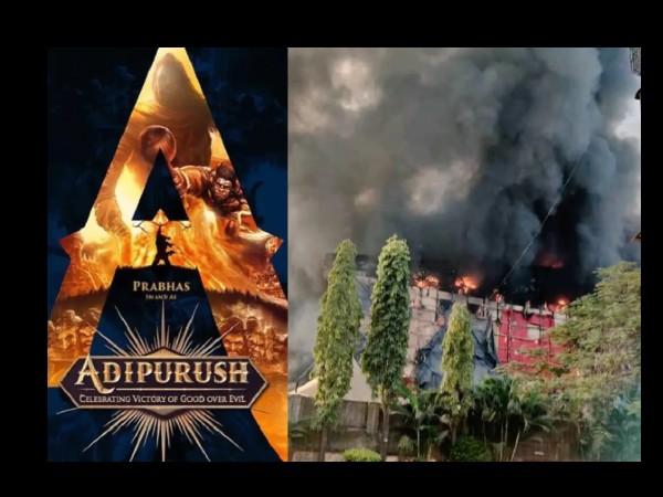 प्रभास-सैफ की 400 करोड़ की फिल्म 'आदिपुरुष' के सेट को जलाने के लिए रची गई साजिश, करोड़ों का घाटा ?