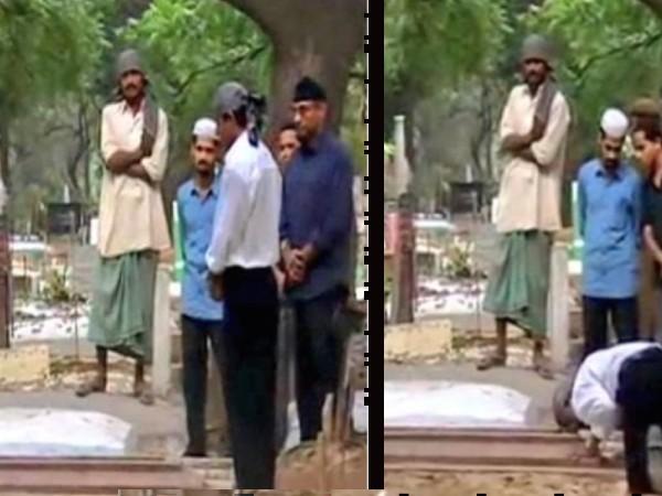 Pics of the Day: माता - पिता की कब्र पर पहुंचे शाहरूख खान, आज भी पहनते हैं तस्वीर वाली तावीज़