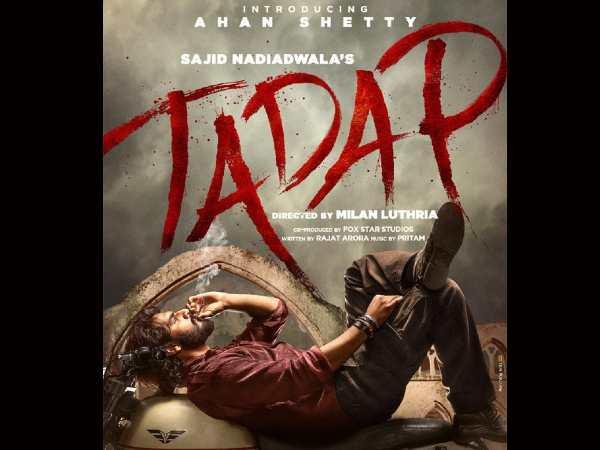 तड़प: अजय देवगन- अक्षय कुमार ने रिलीज किया अहान शेट्टी का FIRST LOOK पोस्टर, हुए इमोशनल, कहा- एंग्री यंग मैन