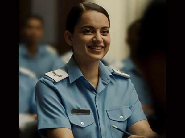 फिल्म 'तेजस' से कंगना रनौत का नया लुक रिलीज़- मेकर्स ने अभिनेत्री को दी जन्मदिन की बधाई