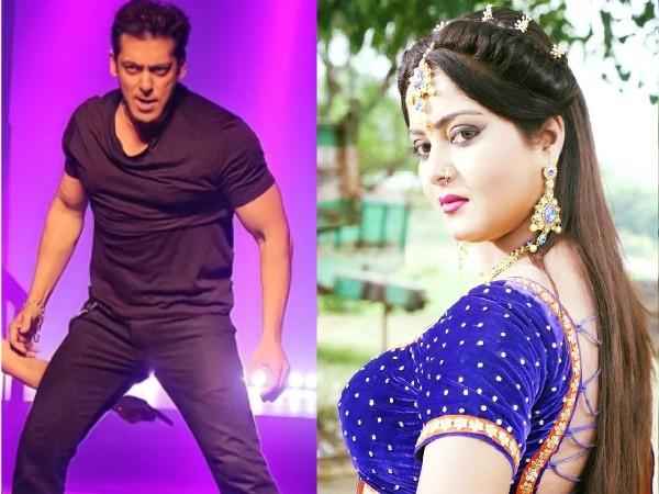 सलमान खान के साथ 'सीटी मार' पर डांस करना चाहती हैं ये भोजपुरी अभिनेत्री, बोली इतनी बड़ी बात!