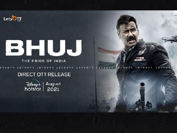 अजय देवगन ने 'भुज' के लिए फाइनल किया Independence day 2021, भुज के साथ ओटीटी पर धमाका!