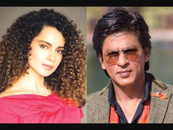 कंगना रनौत ने शाहरुख खान के करियर से की खुद की तुलना