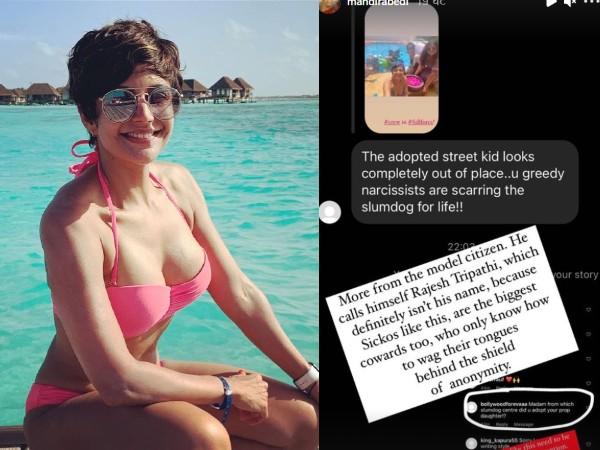 मंदिरा बेदी की बच्ची पर यूजर्स ने किए भद्दे कमेंट, अभिनेत्री ने लगा डाली लताड़!