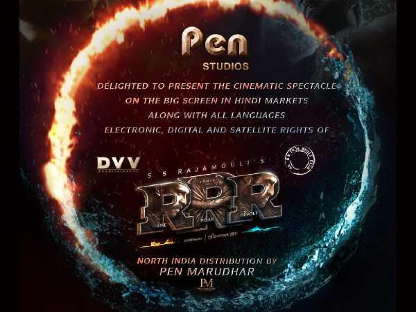 राजामौली के RRR की अविश्वसनीय डील- 150 करोड़ में बिके राइट्स, भारतीय सिनेमा का सबसे बड़ा धमाका