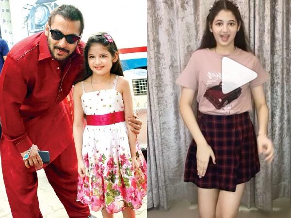बजरंगी भाईजान की मुन्नी ने किया जमकर डांस, वायरल हो रहा है हर्षाली मल्होत्रा का वीडियो!