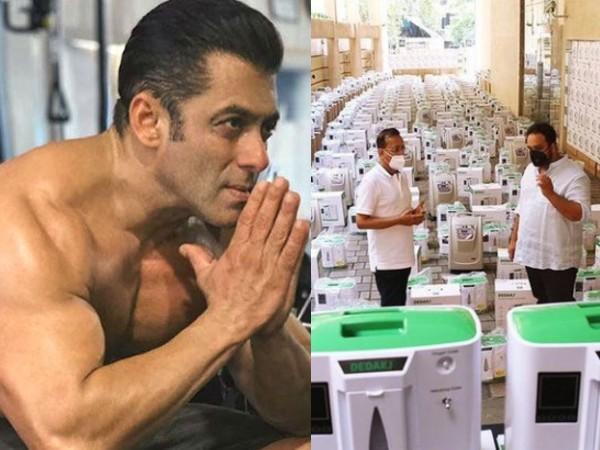 500 ऑक्सीजन कंसंट्रेटर की पहले खेप पहुंची मुंबई, सलमान खान ने साझा किया फोन नंबर
