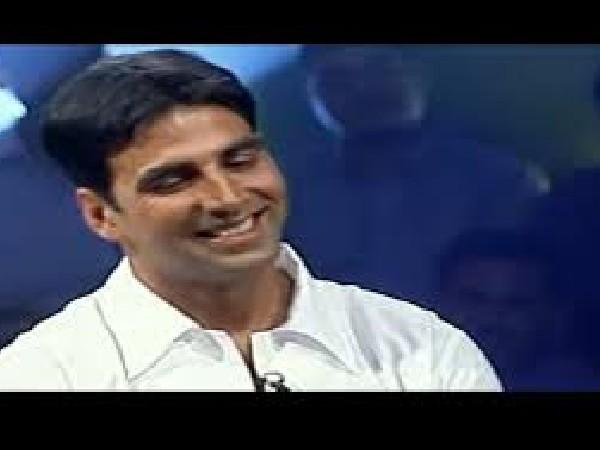 अक्षय कुमार का सालों पुराना वीडियो, पहला स्क्रीन टेस्ट देते हुए ऐसे शर्मा रहे थे 'खिलाड़ी' Video