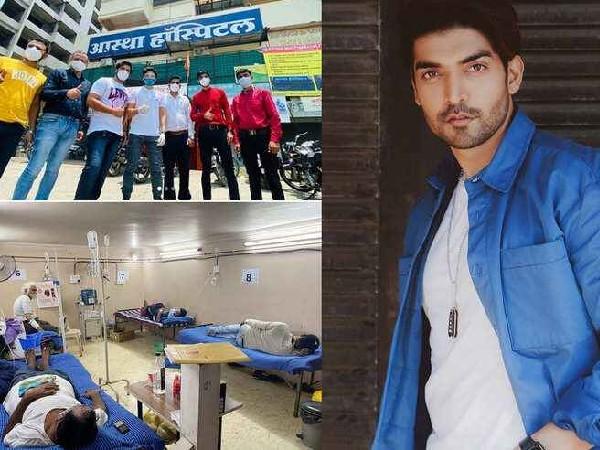 गुरमीत चौधरी के नेक कामों को देख फैंस कर रहे सलाम, खोला 16 दिनों में 1000 बेड्स का कोविड अस्पताल