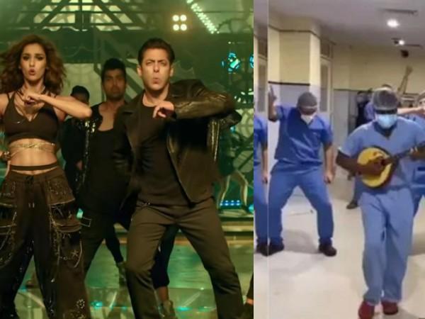 अस्पताल में डॉक्टरों ने 'सीटी मार' गाने पर किया डांस, दिशा पाटनी ने वीडियो पोस्ट कर कही ये बात