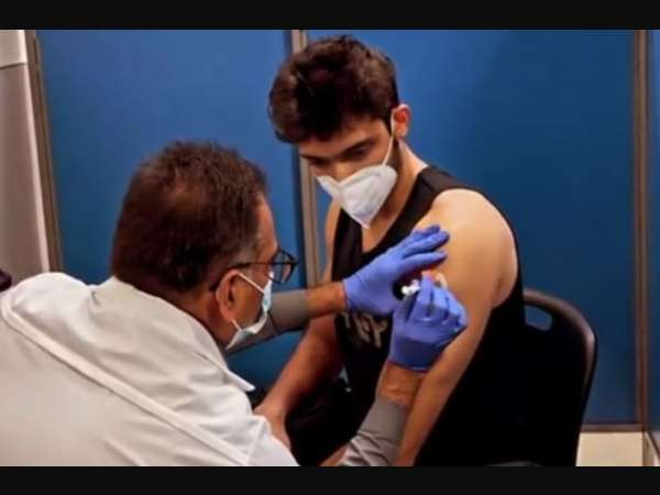 पार्थ समथान ने लगवाई कोरोना वैक्सीन की पहली डोज, वीडियो किया शेयर- लोगों से की खास अपील