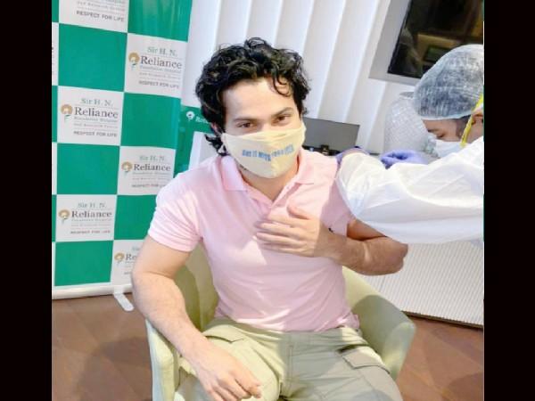 वरुण धवन ने लिया कोरोना वैक्सीन का पहला डोज, वायरल हो रही है तस्वीर!