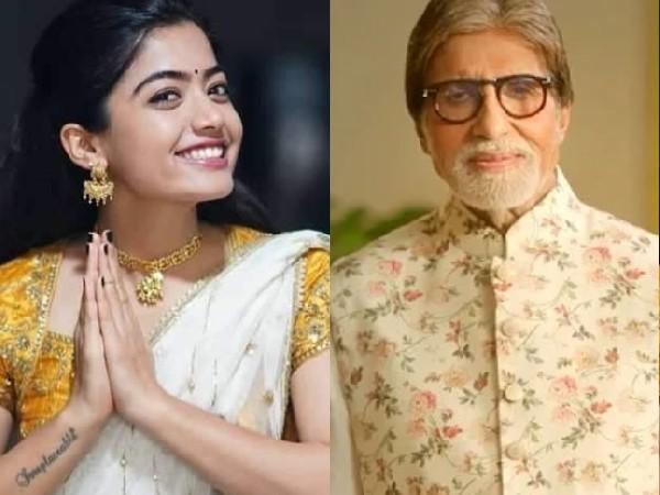 रश्मिका मंदाना और अमिताभ बच्चन के साथ वायरल हुई 'गुड बाय' की ये तस्वीर, फैंस कर रहे हैं तारीफ!