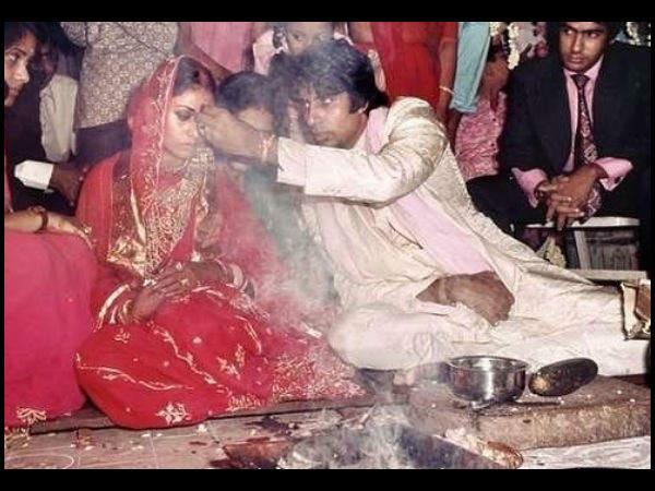अमिताभ बच्चन और जया बच्चन की शादी को हुए 48 साल, बिग बी ने शेयर की विवाह की PHOTOS