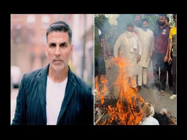 अक्षय कुमार का फूंका पुतला, 'पृथ्वीराज' को लेकर मिली एक्टर को इतनी बड़ी धमकी,जानें वजह !