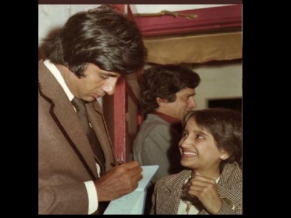 अमिताभ बच्चन को आयी जवानी के दिनों की याद, सूट-बूट में दिखाई पुरानी तस्वीर, बोला- वो दिन चले गए