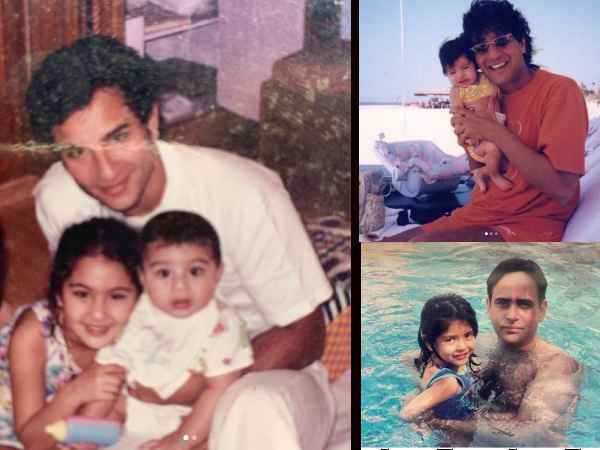 फादर्स डे की तस्वीरें: जान्हवी कपूर, अनन्या पांडे, सारा अली खान, सबने कहा - मेरे पापा बेस्ट