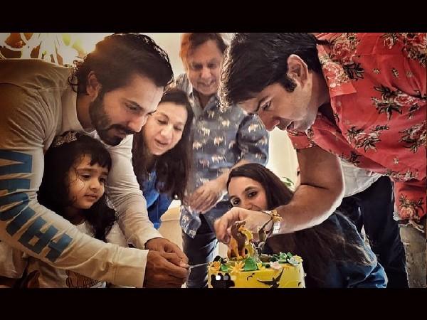 वरुण धवन ने परिवार के साथ साझा की शानदार तस्वीर, मनाते दिखे भतीजी का जन्मदिन!