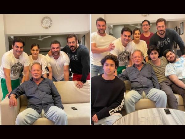 'फादर्स डे' पर सलमान खान ने परिवार संग पोस्ट की ये तस्वीर, पिता सलीम खान को ऐसे किया विश!